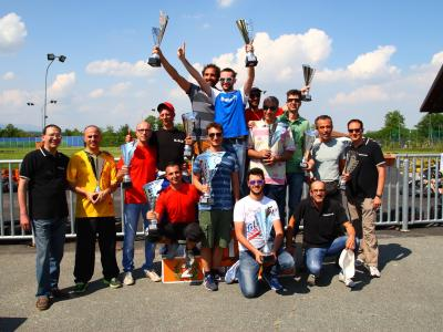 podio finale 6 trofeo go kart