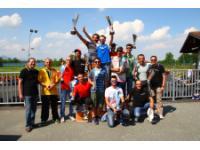 podio finale 6 trofeo go kart